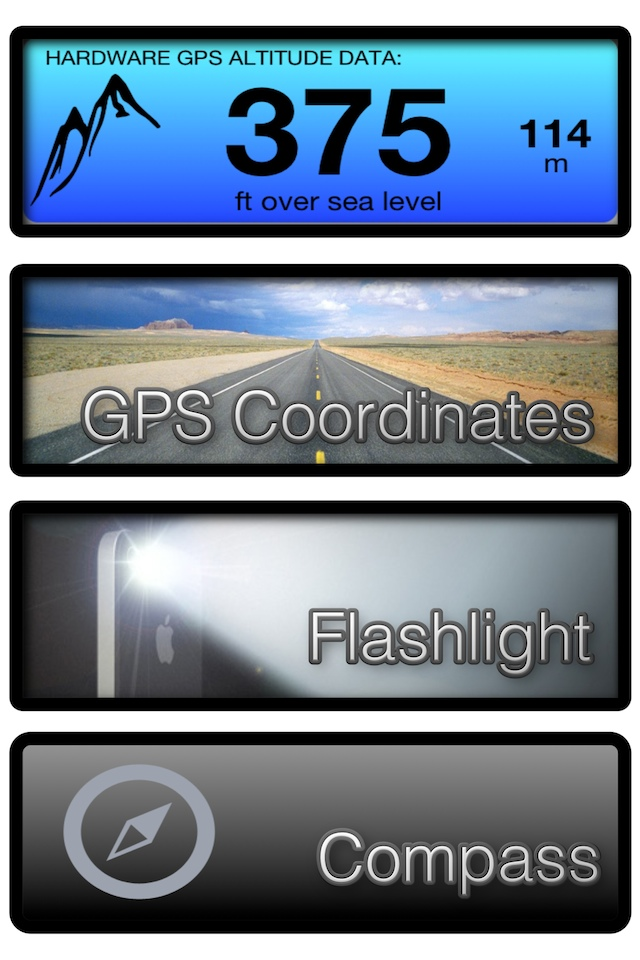 Altimeter GPS Lite Screenshot
