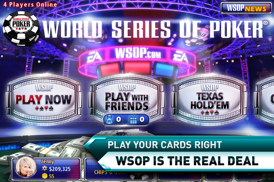 World Series Of Poker Computer Games